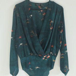 Zara BodySuit Blouse